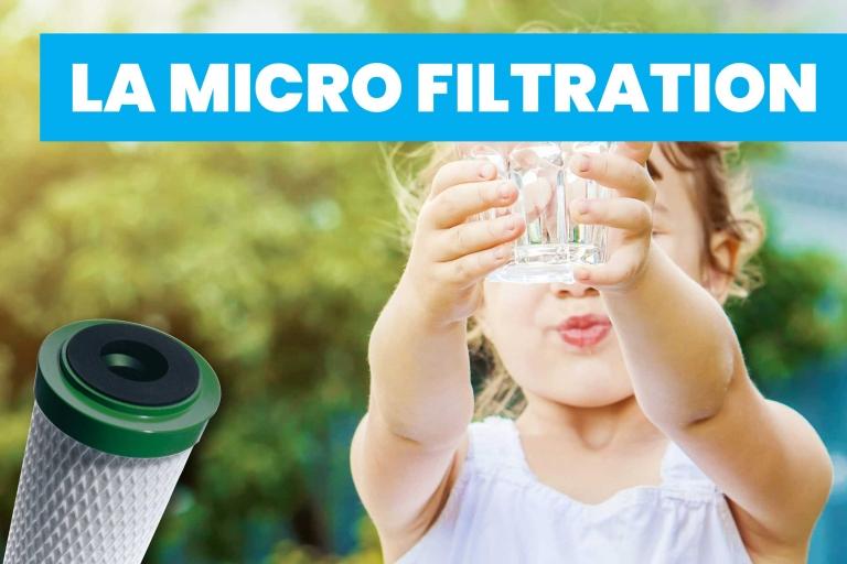 La Micro filtration Kesaco ? Un bon moyen pour filtrer l'eau ?
