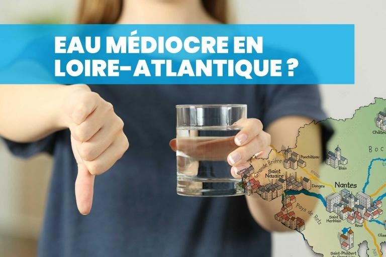 Quand la qualité de l'eau en Loire-Atlantique est